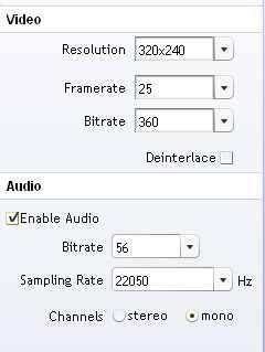 Riva FLV Encoder 2 Ekran Görüntüleri - 3
