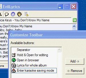 EvilLyrics Ekran Görüntüleri - 1