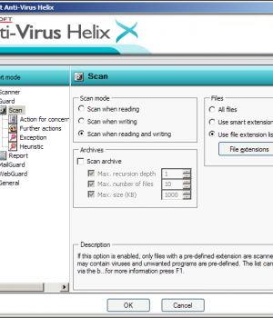 Lavasoft Anti-Virus Helix Ekran Görüntüleri - 2