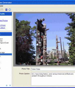 Web Album Generator v.1.8.2 Ekran Görüntüleri - 1