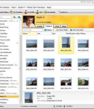 GigaTribe Ekran Görüntüleri - 2