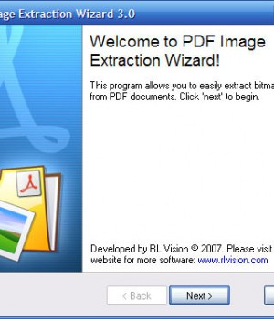 PDF Image Extraction Wizard Ekran Görüntüleri - 1