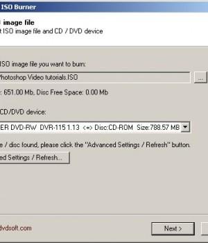 Free DVD ISO Burner Ekran Görüntüleri - 1