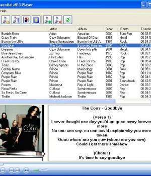 Essential MP3 Player 2.18 Ekran Görüntüleri - 1