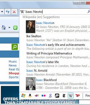 Internet Explorer 8 (Vista) Ekran Görüntüleri - 1