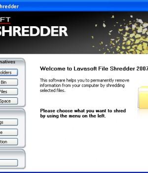 Lavasoft File Shredder Ekran Görüntüleri - 1