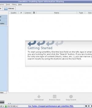 LimeWire (Linux) Ekran Görüntüleri - 3