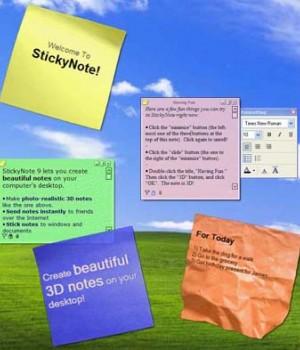 StickyNote 9.0 Ekran Görüntüleri - 2