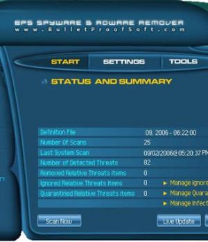 BPS Spyware & Adware Remover Ekran Görüntüleri - 1