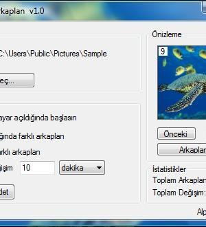 Değişken Arkaplan Ekran Görüntüleri - 1