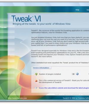 TweakVI Basic Ekran Görüntüleri - 1