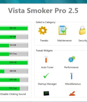 Vista Smoker Pro Ekran Görüntüleri - 1