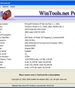 WinTools.net Professional Ekran Görüntüleri - 1