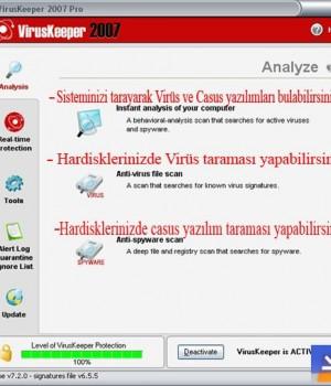 VirusKeeper Ekran Görüntüleri - 1