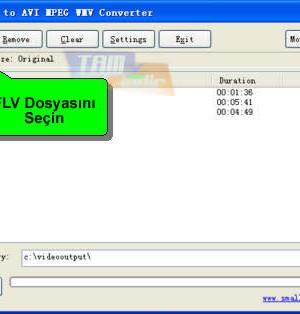 Freez Flv to AVI/MPEG/WMV Converter Ekran Görüntüleri - 3