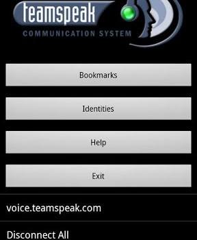 TeamSpeak Client Ekran Görüntüleri - 1