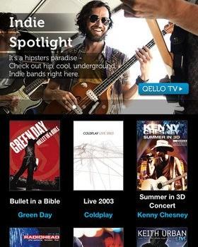 Qello - Watch HD Music Concerts Ekran Görüntüleri - 4