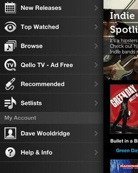 Qello - Watch HD Music Concerts Ekran Görüntüleri - 3