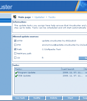 VirusBuster Professional Ekran Görüntüleri - 2