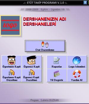 Etüt Takip Programı Ekran Görüntüleri - 1