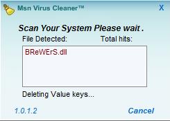 Msn Virus Cleaner Ekran Görüntüleri - 1