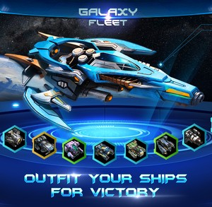 Galaxy Fleet: Alliance War Ekran Görüntüleri - 4