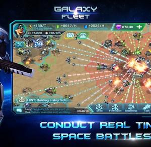 Galaxy Fleet: Alliance War Ekran Görüntüleri - 1