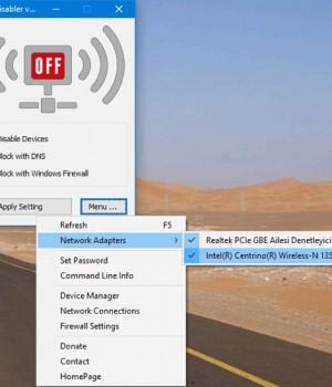Net Disabler Ekran Görüntüleri - 1