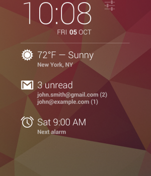 DashClock Widget Ekran Görüntüleri - 3