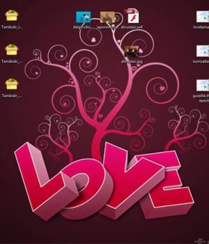Sevgililer Günü Love Tema Ekran Görüntüleri - 1