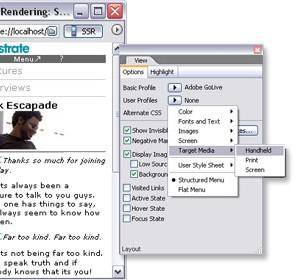 Adobe GoLive 9 Ekran Görüntüleri - 2
