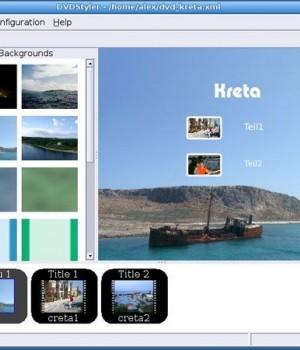 DVDStyler Ekran Görüntüleri - 1