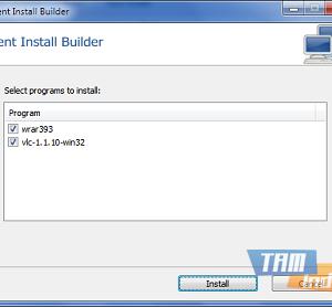 Silent Install Builder Ekran Görüntüleri - 1