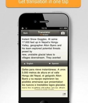 ABBYY TextGrabber + Translator Ekran Görüntüleri - 2