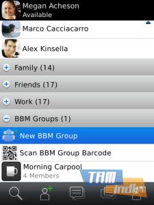 BBC BlackBerry Messenger Ekran Görüntüleri - 4