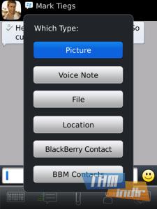 BBC BlackBerry Messenger Ekran Görüntüleri - 3