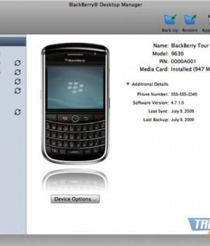 BlackBerry Desktop Software Ekran Görüntüleri - 1
