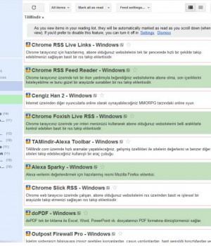Chrome Reader Plus Ekran Görüntüleri - 1