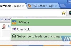 Chrome RSS Feed Reader Ekran Görüntüleri - 2