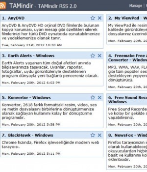 Chrome Slick RSS Ekran Görüntüleri - 3