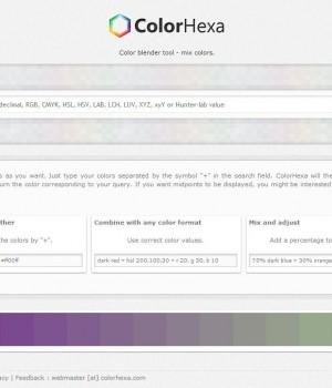 ColorHexa Ekran Görüntüleri - 3