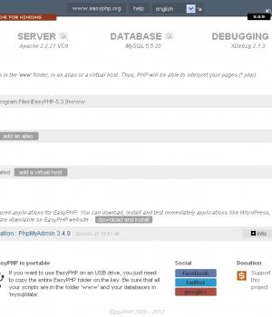 EasyPHP Ekran Görüntüleri - 2