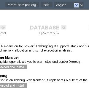 EasyPHP Ekran Görüntüleri - 4