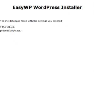 EasyWP WordPress Installer Ekran Görüntüleri - 2
