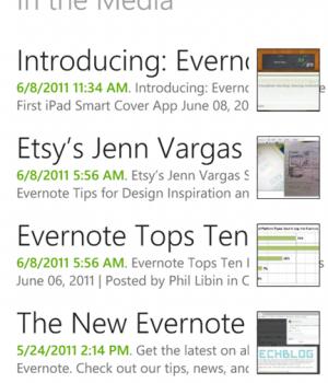 Evernote Mobil Ekran Görüntüleri - 2