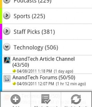 FeedR News Reader Ekran Görüntüleri - 2