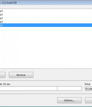Free Audio CD Burner Ekran Görüntüleri - 1
