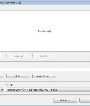 Free Audio CD To MP3 Converter Ekran Görüntüleri - 1