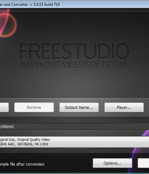 Free HTML5 Video Player and Converter Ekran Görüntüleri - 1