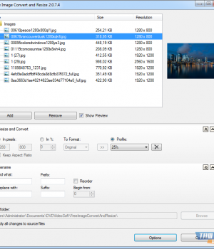 Free Image Convert and Resize Ekran Görüntüleri - 1